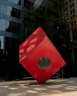 Isamu Noguchi, Red Cube