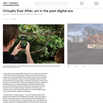 Virtually Ever After: art in the post-digital era - Features - art-agenda