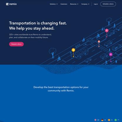 Remix | The Collaborative Platform for Transportation Decision-Makers