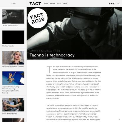 Techno is technocracy