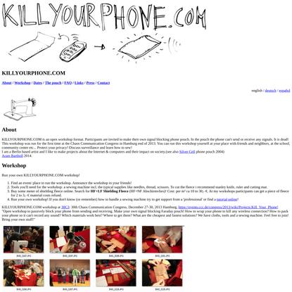 KILLYOURPHONE.COM