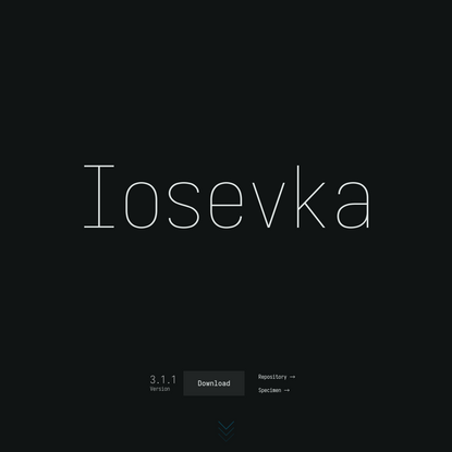 Iosevka