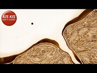 Small sphere travels through landscapes | The Aroma of Tea - Short Film by Michael Dudok de Wit