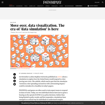 Move over, data visualization. The era of 'data simulation' is here