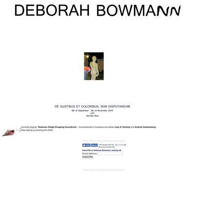 Deborah Bowmann
