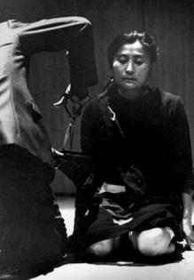 Yoko Ono's 'Cut Piece' (1965)
