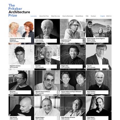 Laureates | The Pritzker Architecture Prize