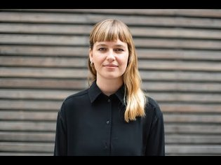 """Ines Cox. Lecture """"Buttons and Icons as Metaphors of the Physical World"""""""