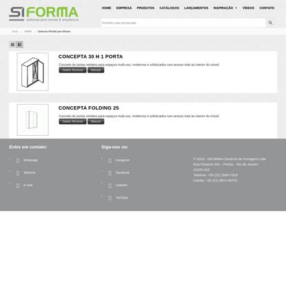 Arquivos Sistemas Retrátil para Móveis - SIFORMA