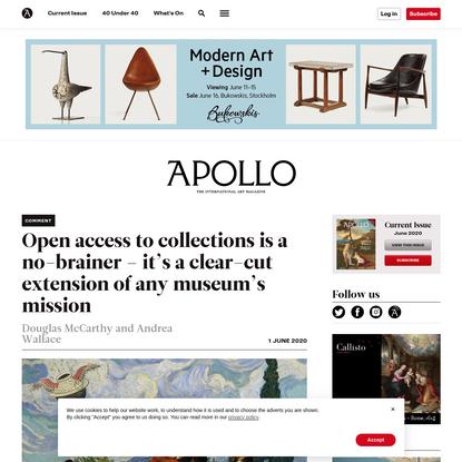 The case for open access | Apollo Magazine