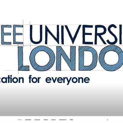 Free University London - Free University London