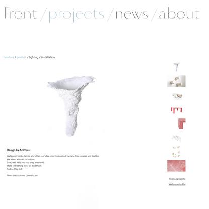 Design by animals - Front Design