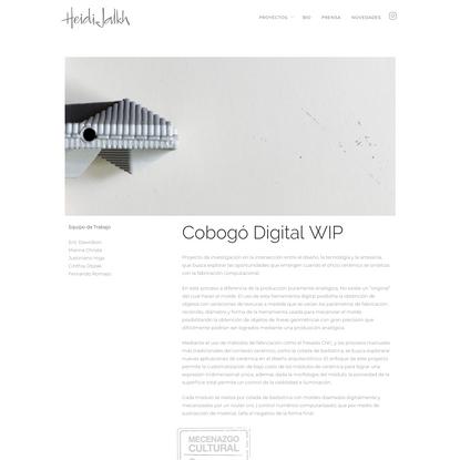 Cobogó Digital WIP
