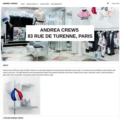 Andrea Crews - Upcycling