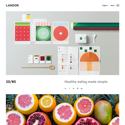 20/80 | Case study | Landor