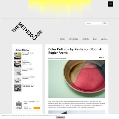 Color Collision by Kirstie van Noort & Rogier Arents - THE METHOD CASE