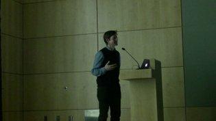 2014 Lecture by Paul Elliman (Feb 13)