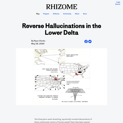 Reverse Hallucinations in the Lower Delta