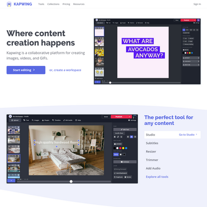 Kapwing - Where Content Creation Happens