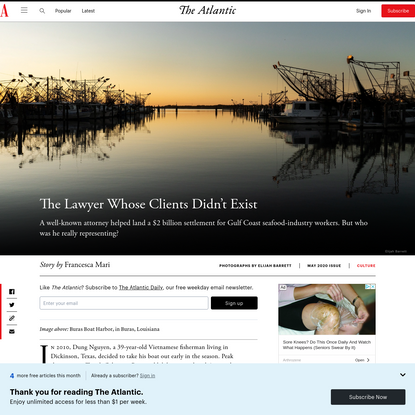 The Lawyer Whose Clients Didn't Exist