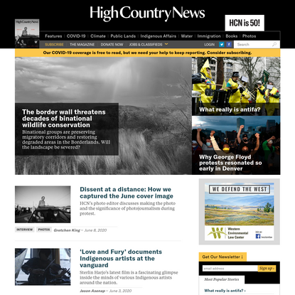 High Country News - Know the West