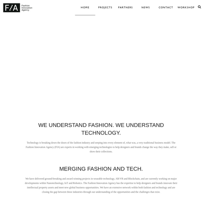 Fashion Innovation Agency connecting designers with brands