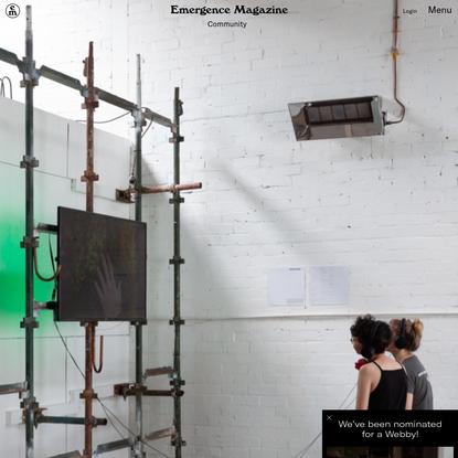 Online Community Offerings - Emergence Magazine
