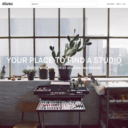 stusu - studio sublet