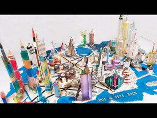 Bodys Isek Kingelez: City Dreams   MoMA EXHIBITION