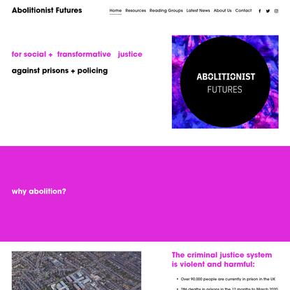 Abolitionist Futures
