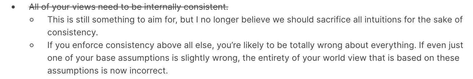 An epistemological shift I relate to