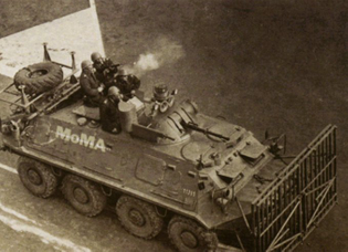 Vuk Cosic, MOMA Tank, 1997