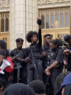 Actors as Black Panthers