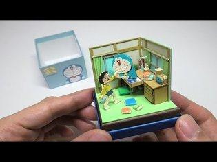 DIY Doraemon Miniature Paper Craft Kit