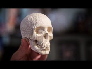 Show and Tell: Papercraft Skull Kit