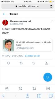 Grinch bots