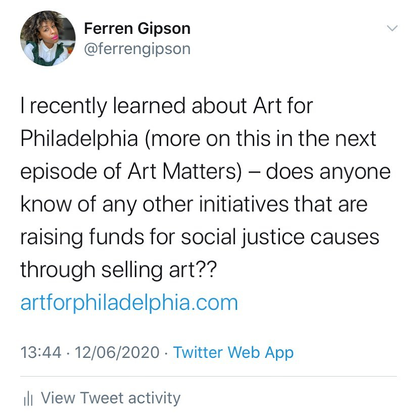 """Ferren Gipson on Instagram: """"Please let me know if you know of any other initiatives like this down in the comments. Thank y..."""