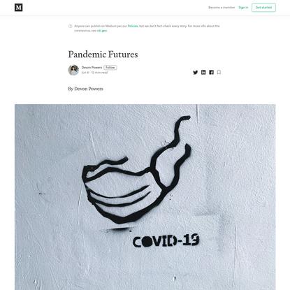Pandemic Futures