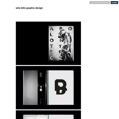 who kills graphic design
