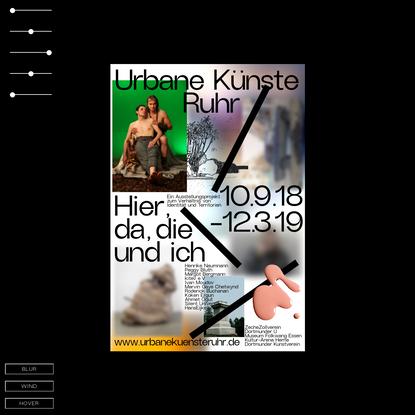 Lamm Kirch | Liebermann Kiepe - Moving Poster for Urbane Künste Ruhr