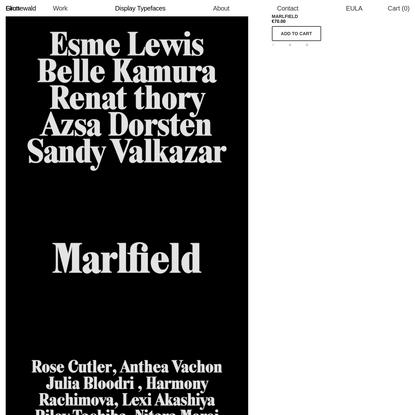 Marlfield - Eliott Grunewald