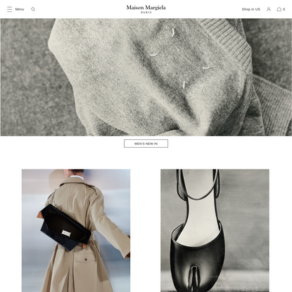 Maison Margiela Official Store | Men's and Women's Apparel and Accessories
