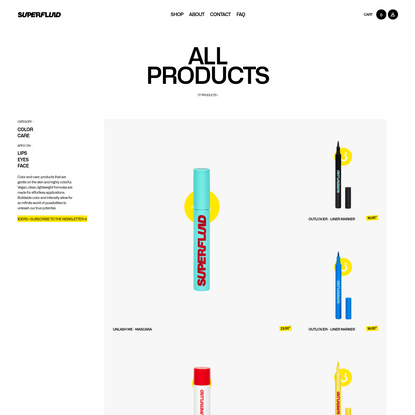 View all products | Superfluid