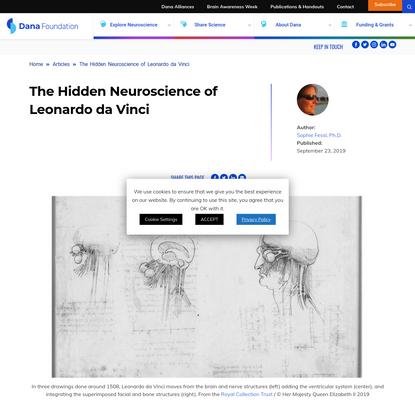 The Hidden Neuroscience of Leonardo da Vinci | Dana Foundation