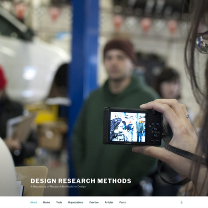 A Repository of Research Methods for Design