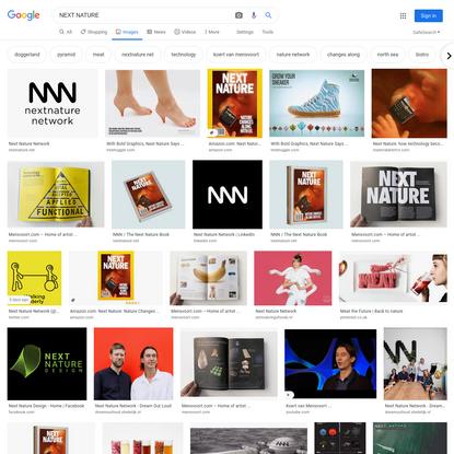 NEXT NATURE - Google Search