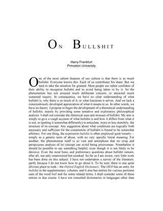 on-bullshit.pdf