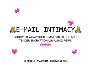 🧸EMAIL INTIMACY 🧸 today we remember that intimacy is the antidote to capitalism !! a lot of the ~security~ conversations i'v...