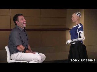 Meet Sophia, World's First AI Humanoid Robot | Tony Robbins