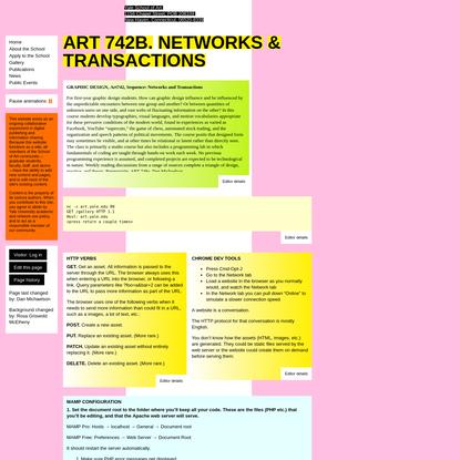 Art742b - Yale School of Art